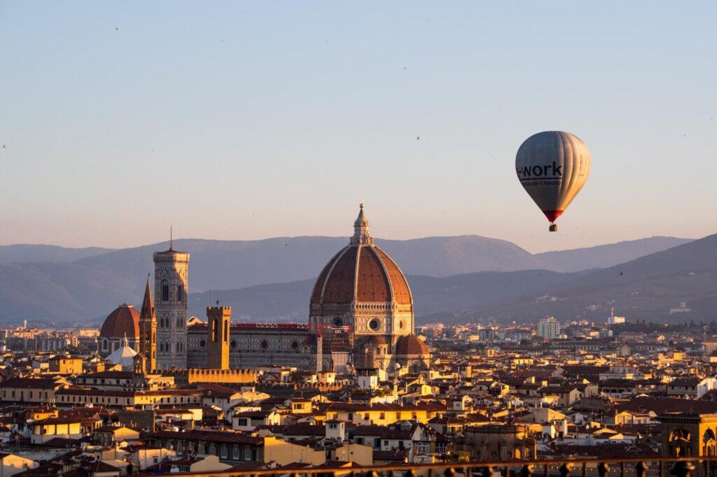 Volo privato Firenze 2